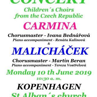 Dětský pěvecký sbor CARMINA v Kodani
